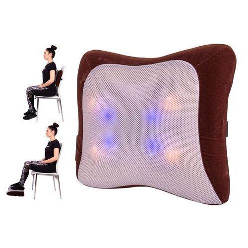 Poduszka masująca do masażu rehabilitacyjna matabo + podgrzewanie marki Insportline
