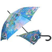 Carmani Parasolka parasol monet lilie wodne kolorowy