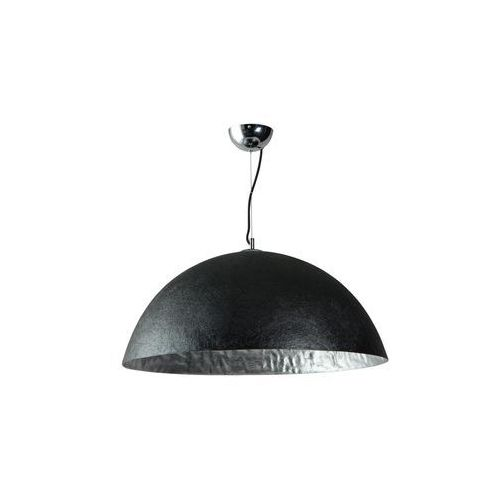 Lampa wisząca Loft ETH Mezzo Tondo czarna srebrna