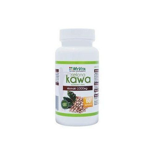 Kapsułki Zielona kawa ekstrakt MyVita 1000mg 60 kapsułek