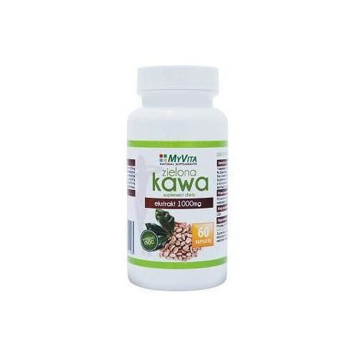 Zielona kawa ekstrakt MyVita 1000mg 60 kapsułek (artykuł z kategorii Tabletki na odchudzanie)