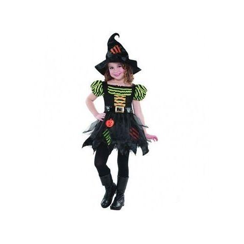 Amscan Kostium dyniowa czarownica dla dziewczynki - 5/7 lat (116)