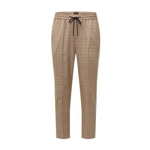 spodnie w kant 'rpfma 19.10.18 bruce check pull on' brązowy, New look