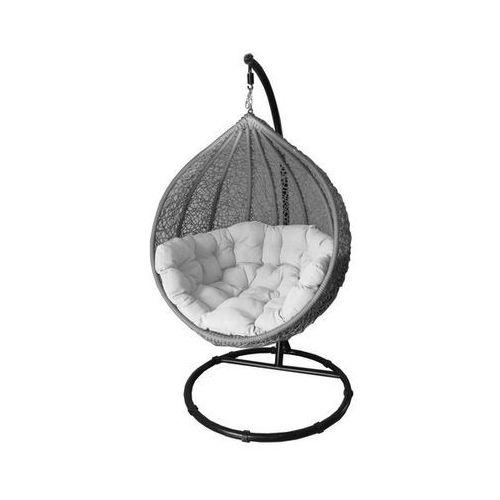 Hustawka Ogrodowa Cocoon Allegro : Huśtawka ogrodowa Miloo COCOON jasno szarybiały  produkt dostępny