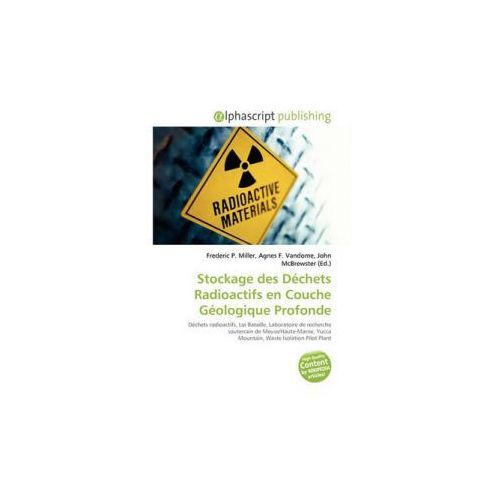 Stockage des Déchets Radioactifs en Couche Géologique Profonde
