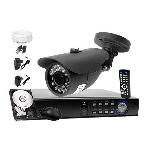 Zestaw do monitoringu: rejestrator 4 kanałowy lv-hdvr0401h + 1x kamera lv-al20mt + dysk 1tb + akcesoria marki Ivelset