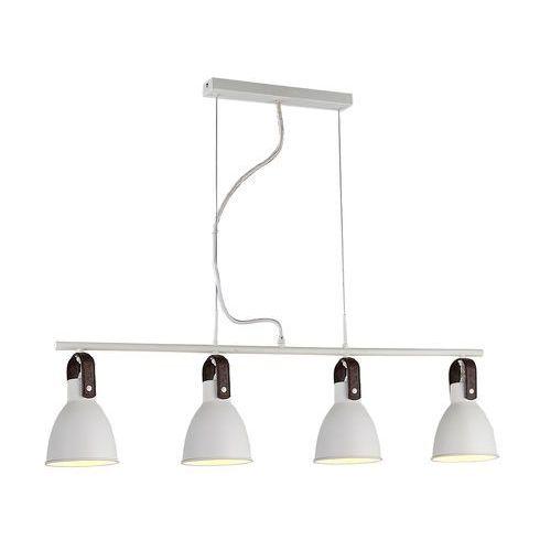 Lampa wisząca TESSIO 4 2653-4P WH - AZzardo + LED - Autoryzowany dystrybutor AZzardo, kolor Biały