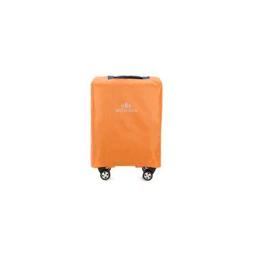 Pokrowiec na walizkę 20' WITTCHEN 56-3-031 pomarańczowy - pomarańczowy