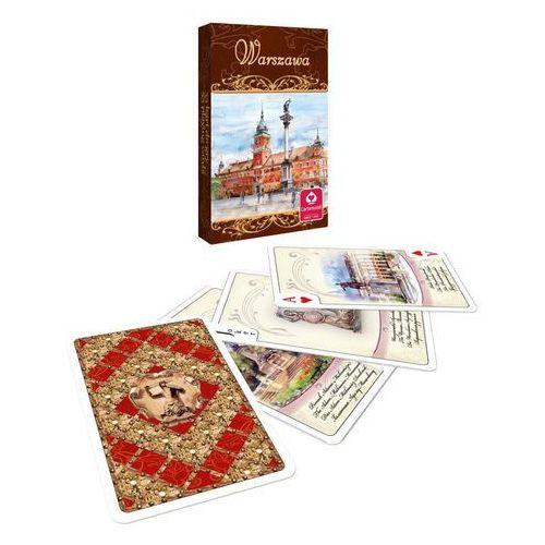 Karty do gry akwarele warszawa 55 listków marki Cartamundi