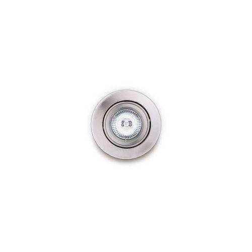 h0037 oczko lampa oprawa wpuszczana downlight 1x50w gu5.3 12v satyna marki Maxlight