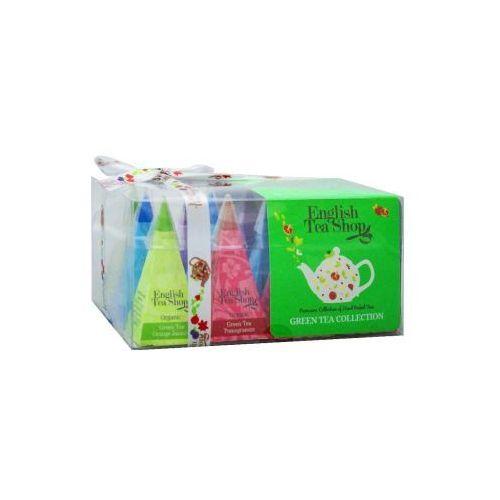 English tea shop Ets bio green tea collection 12 piramidek