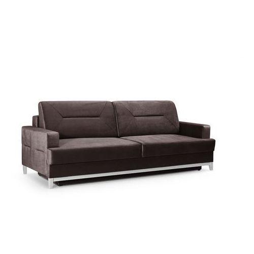 "Sofa ""ALMA"" rozkładana - ciemny brąz"