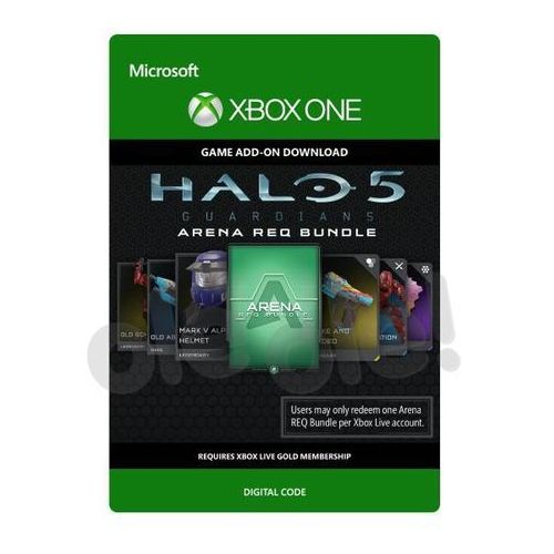 Microsoft Halo 5: guardians - zestaw req arena [kod aktywacyjny]