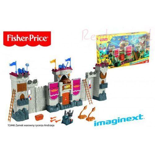 Fisher Price Imaginext - Zamek warowny Rycerza Andrzeja Y2446 - produkt w magazynie - szybka wysyłka! (0746775201210)
