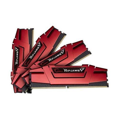 Pamięć G.Skill Ripjaws V DDR4, 16GB (4GBx4), 3000MHz, CL15, 1.35V (F4-3000C15Q-16GVR) Darmowy odbiór w 21 miastach!, F4-3000C15Q-16GVR