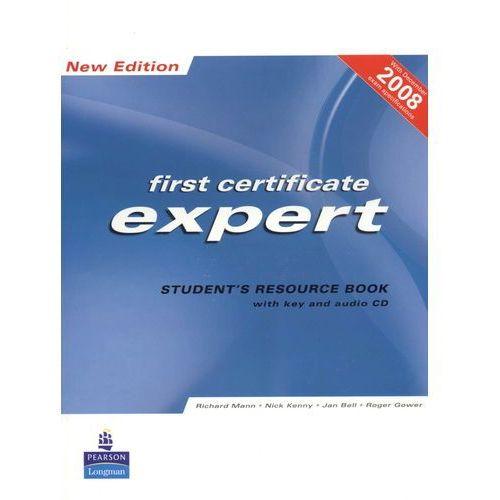 FCE Expert New Edition Student's Resource Book with Key plus Audio CD (opr. miękka)