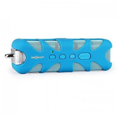 Oneconcept blue know głośnik bluetooth aux bateria, niebieski (4260365798073)