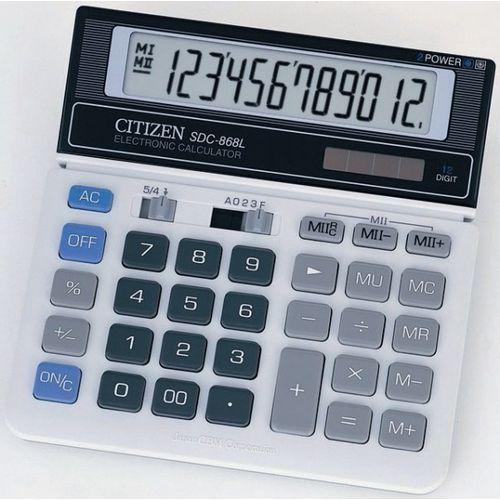Citizen Kalkulator sdc-868l