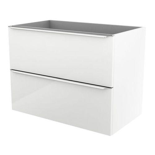 Cooke&lewis Szafka pod umywalkę cooke&lewis imandra wisząca 80 cm biała (3663602932826)