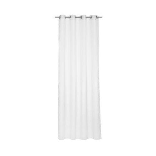 Firana na przelotkach TAGODA 140 x 260 cm biała INSPIRE (3276000306269)