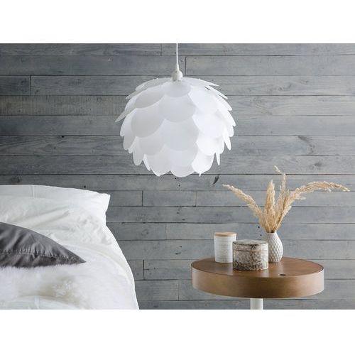 Lampa wisząca biała rhine marki Beliani