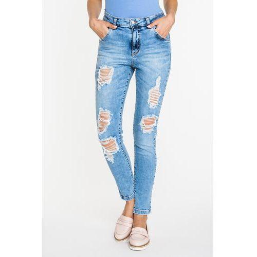 Wygodne jeansy z dziurami - Tova