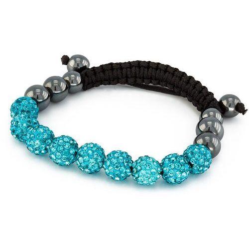 Cloe Bransoletka shamballa exclusive diamonds indicolite - indicolite