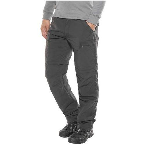 Vaude farley iv spodnie długie mężczyźni czarny 52 2018 spodnie z odpinanymi nogawkami