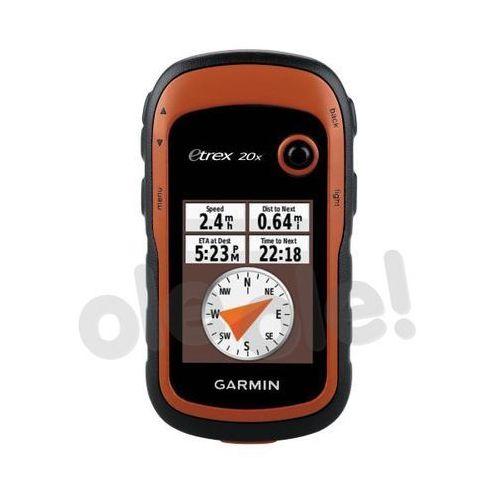 etrex 20x europa zachodnia marki Garmin