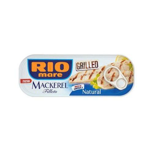 120g grillowane filety makreli w sosie własnym marki Rio mare