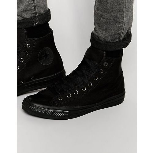 chuck taylor all star ii hi-top plimsolls in black 151221c - black marki Converse