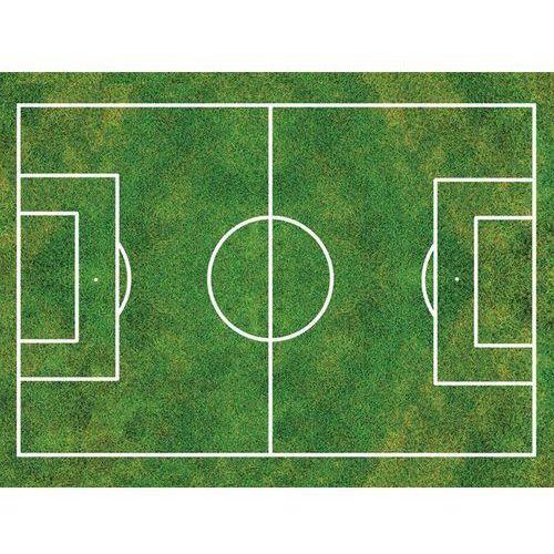Modew Dekoracyjny opłatek tortowy z nadrukiem - boisko do piłki nożnej