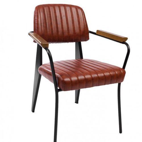 Signu design krzesło aron brązowe