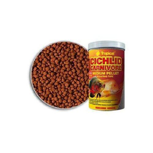 TROPICAL Cichlid Carnivore Medium Pellet pokarm dla pielęgnic
