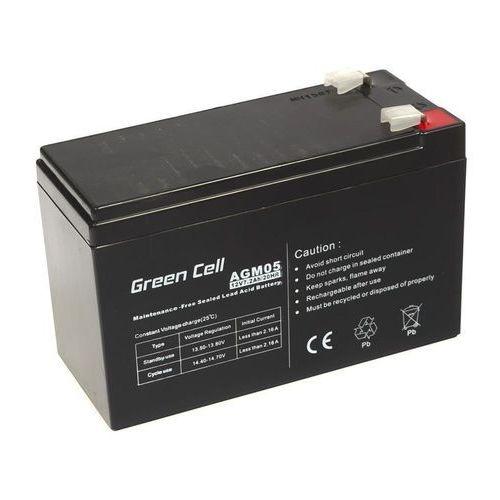 Akumulator AGM 12V 7.2Ah {151 × 65 × 98 mm} (GreenCell)