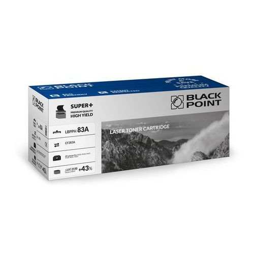 Black Point toner LBPPH83A / CF283A (black) Darmowy odbiór w 19 miastach!, LBPPH83A