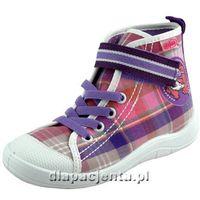 - obuwie przedszkolne trampki 268x020 marki Befado