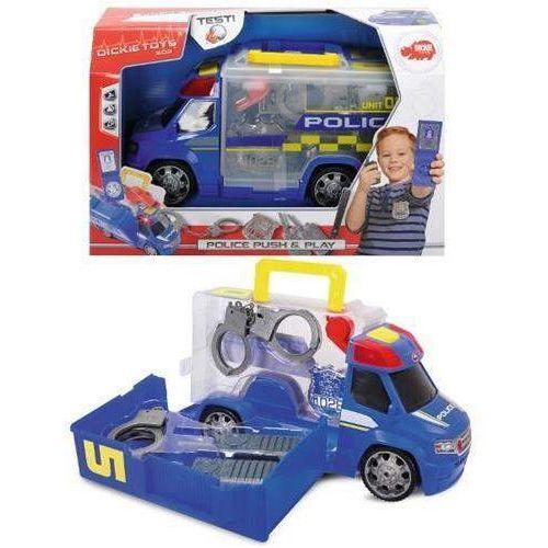 Dickie Van policja z zestawem akcesoriów