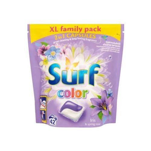 Kapsułki do prania SURF Color Iris & Spring Rose 42szt (8710447192221)