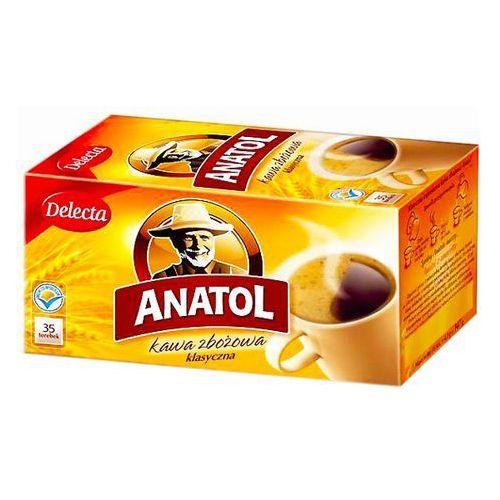 Kawa zbożowa klasyczna 35 saszetek marki Delecta