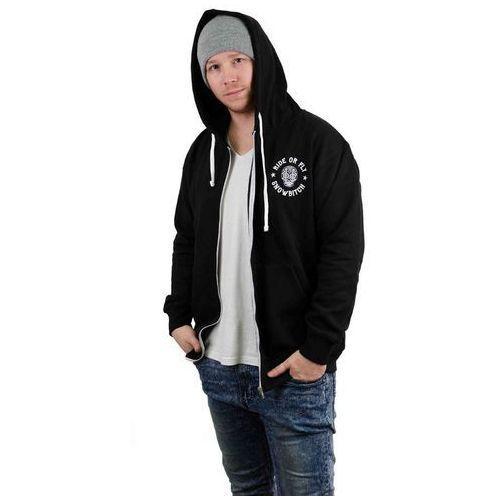 Bluza - skull zip-hoody black (black) rozmiar: xl marki Snowbitch