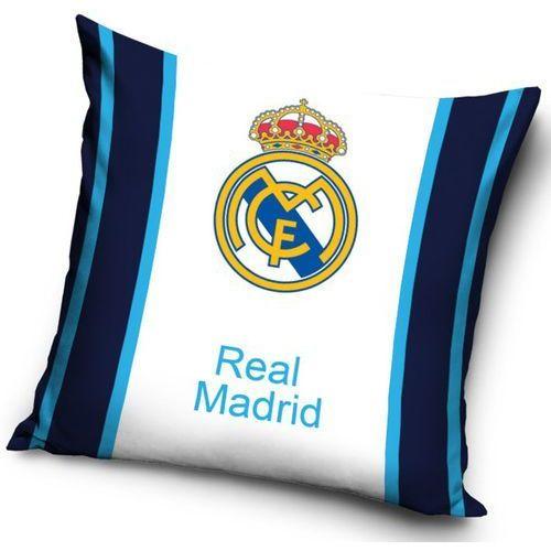 Tip Trade Poduszka jasiek FC Real Madrit Blue Stripes, 40 x 40 cm