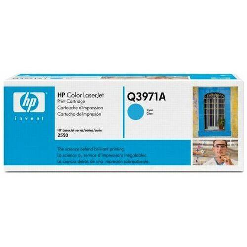 Wyprzedaż oryginał hp color laserjet 2550 print cartridge, cyan (up to 2000 pages) marki Hewlett-packard
