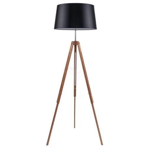 Lampa stojąca SPOT Light TRIPOD z czarnym abażurem, kolor czarny