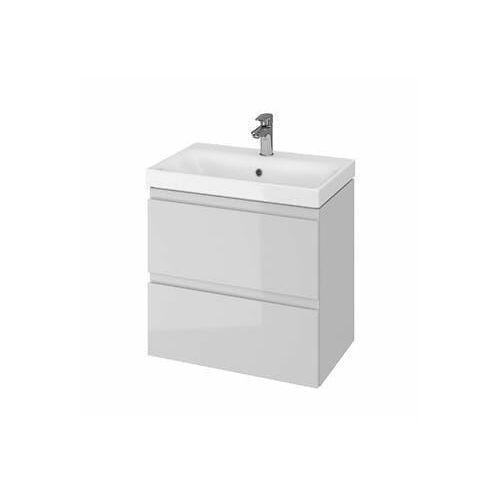 CERSANIT Zestaw łazienkowy MODUO SLIM 60cm szary (szafka+umywalka) S801-226