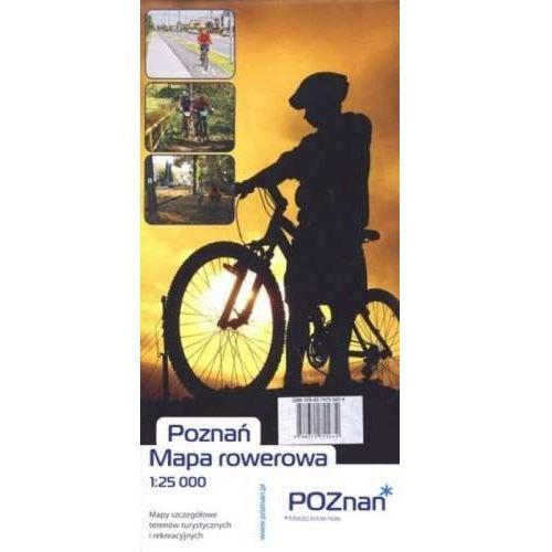 Poznań. Mapa rowerowa 1:25 000