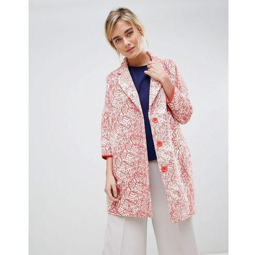 See U Soon Oversize Coat - Red, 1 rozmiar