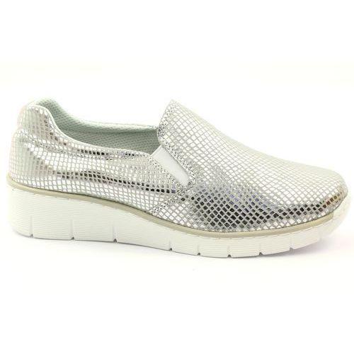 Slipony buty sportowe skórzane Filippo 204, 1 rozmiar