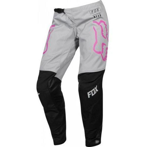Fox_sale Spodnie off-road fox junior lady 180 mata black/pink