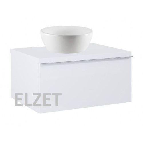Elita szafka look 1s white matt pod umywalkę nablatową + blat 60 white 167590+166890